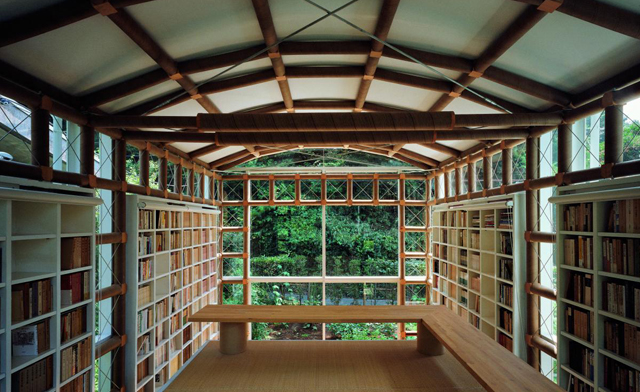 Shigeru Ban: Building with Paper – Library of a Poet   MArch2